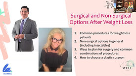 * Age WELL: Surgical and Non-Surgical Options After Weight Loss