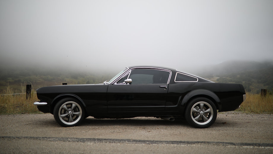 1965 FORD MUSTANG PANOZ BUILT FOR PATRICK DEMPSEY