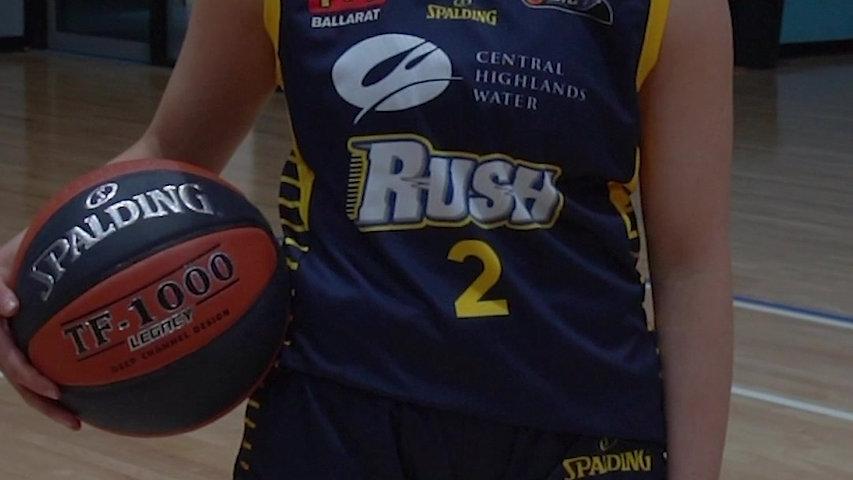 Ballarat Basketball Spalding Jersey
