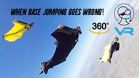 When Base Jumping Goes Wrong - The Johnny Korthuis Story in 360-Video/VR