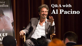 Discussion with Oscar Winning Actor Al Pacino
