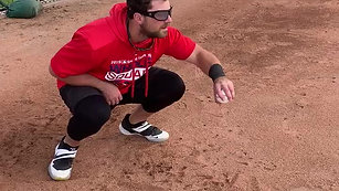 Soft Hands Catching Drill with Strobe Glasses