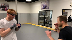 MMA/Boxing - Slipping Drill with StrobeTraining Glasses