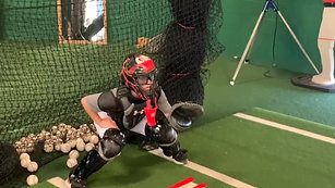 Baseball - Catcher Pitch Tracking with Strobe Training Glasses