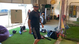 Baseball - Single Leg RDL Balance Drill with Strobe Training Glasses
