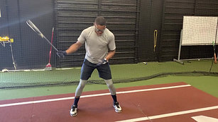 LH One Hand Swing Drill