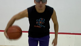 Basketball - Waist Wrap Drill with Strobe Training Glasses