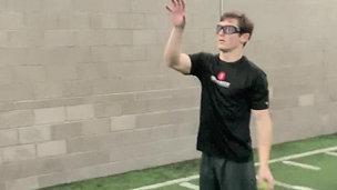 Receiver Dual Ball Toss Drill - Focus & Reaction Time