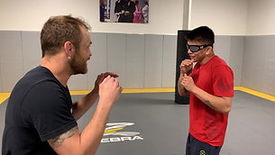 MMA/Boxing - Slipping Drill with Strobe Training Glasses