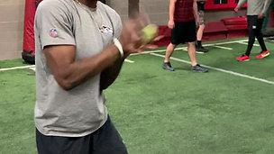 Ball Toss - Reaction & Focus Drill