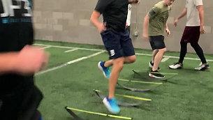 Single Leg Lateral Hurdle Hops