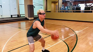 Basketball - Dribble & Catch with Strobe Training Glasses
