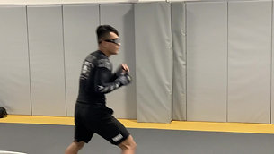 Dynamic Warmup - Footwork & Balance with Strobe Training Glasses