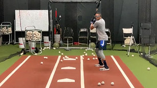 Baseball - Pitch Tracking Drill with Strobe Training Glasses