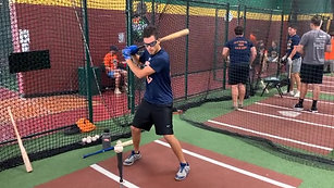 Baseball - Tee Drills - Dual Lenses Mode with Strobe Training Glasses