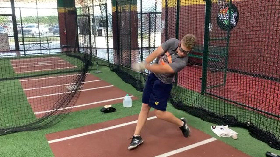 Baseball - Front Toss - Right Eye Only (Listen to the End) with Strobe Training Glasses