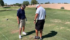 Golf - Wedge Shots with Strobe Training Glasses, Dominant/Weak Eye Training