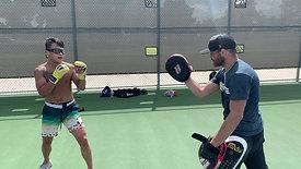 MMA/Boxing - High Kicks with Strobe Training Glasses