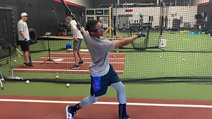 Baseball - Tee Drill - 910ms Occlusion with Strobe Training Glasses