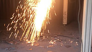 Plasma Cutter In action...