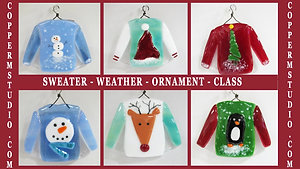 Sweater Weather Ornament Class