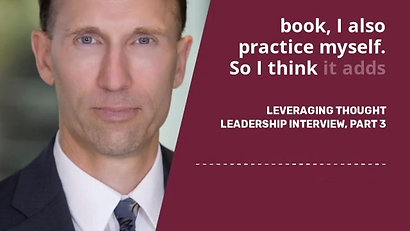 Ryan Lahti - Leveraging Thought Leadership, Part 3