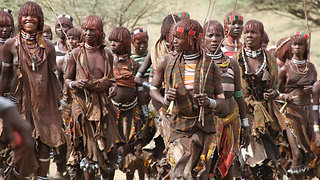 ETHIOPIA                                                     TRIBES OF THE OMO VALLEY