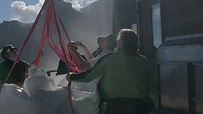 Heli Landing Refugio Aug 2020