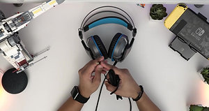EKSA _ Gaming Headset for  PS4, PC, Xbox One _  Adjustable Mic