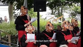 Krølle Bølles fejring af Dannebrog