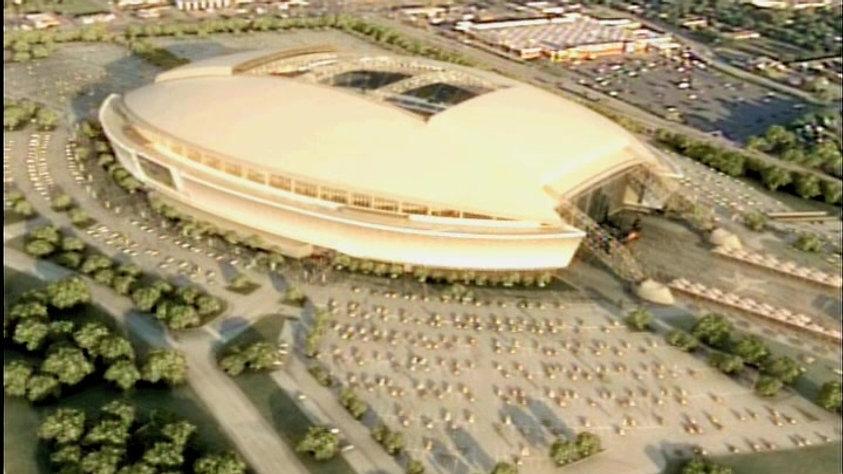 Cowboy Stadium Unveiling