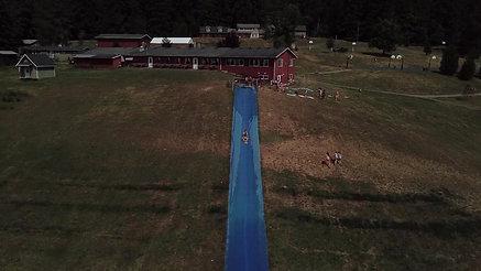 Slip n Slide from the Sky