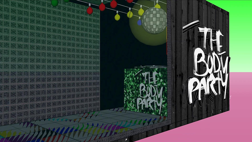 SKETCHUP THE BODY PARTY