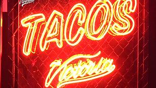 Tacos - Letrero