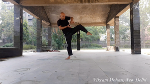007 Vikram Mohan - choreographer, dancer - New Delhi