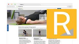 Rheumafit training platform tutorial