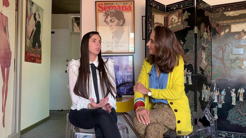 Entrevista Silvana con Pilar Castaño