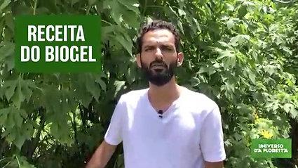Agrofloresta: receita de biogel