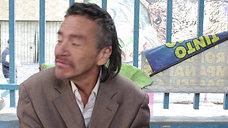 Carlos, uno de los invisibles en el Septimazo