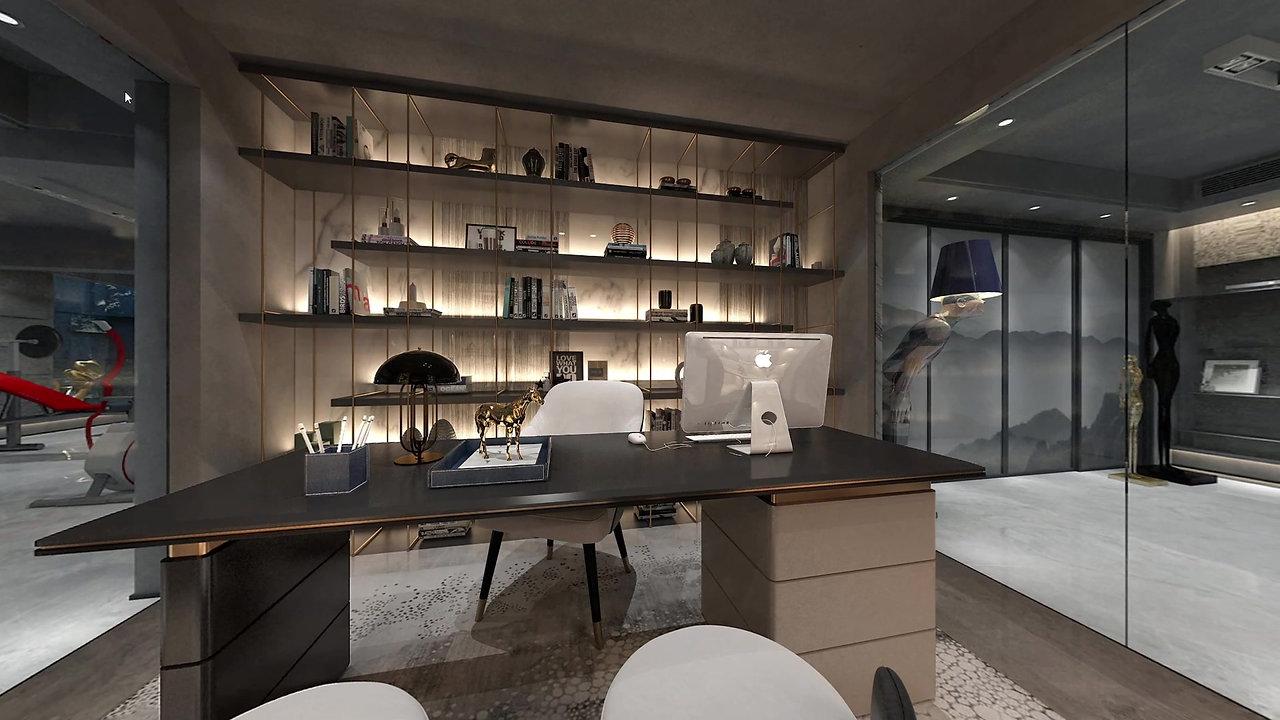 Basement design - office