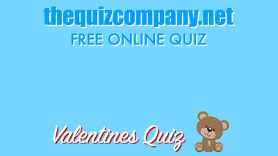 VALENTINES Quiz