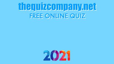 2021 - MARCH Quiz