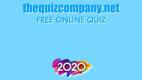 2020 Quiz Of The Year