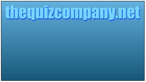 Online Quiz - 3rd July 2020