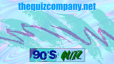 1990's Quiz