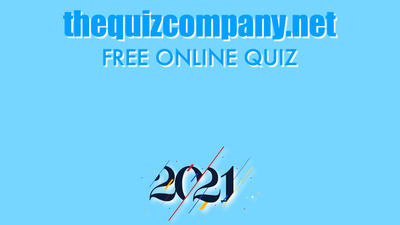 2021 - JANUARY Quiz