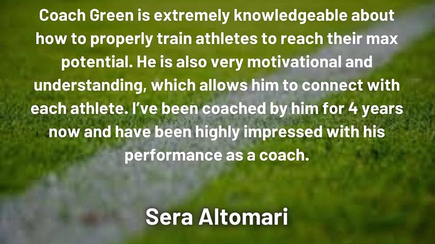 Client Review - Sera Altomari
