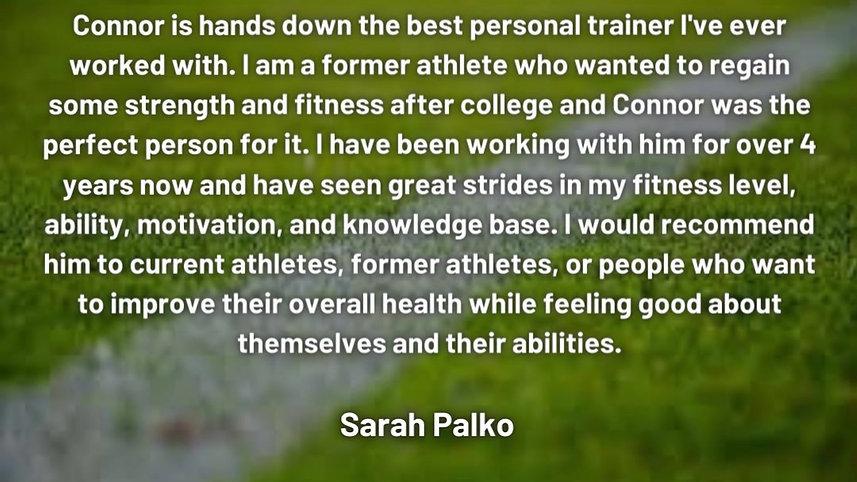 Client Review - Sarah Palko