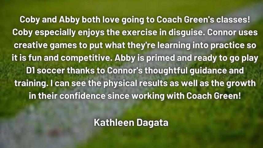 Client Review - Kathleen Dagata