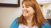 Bon Secours Commercial - A charming patient is educated about weight loss.